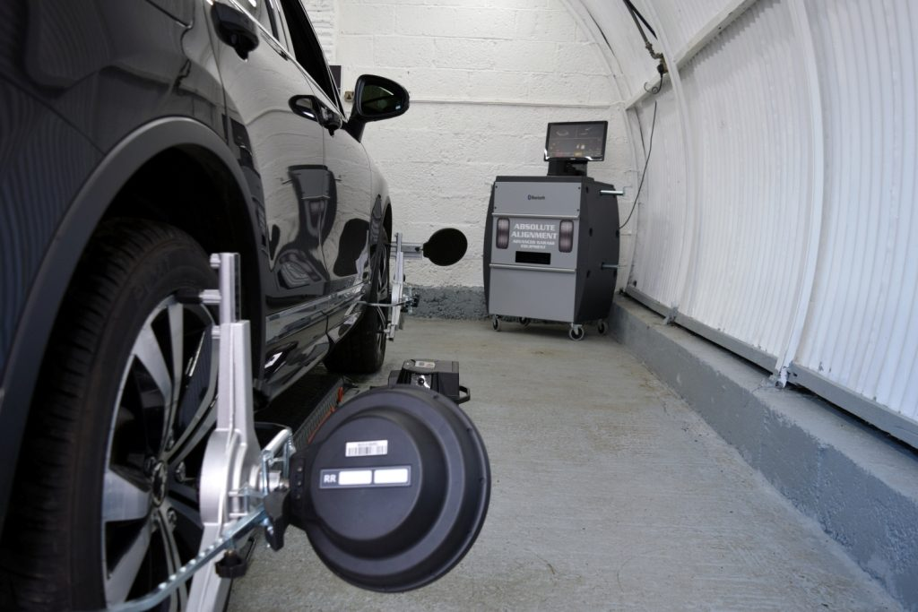 3D wheel aligner from Absolute Alignment