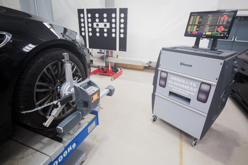 The EV and Wheel Alignment